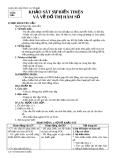 GIÁO ÁN GIẢI TÍCH 12 CƠ BẢN - KHẢO SÁT SỰ BIẾN THIÊN  VÀ VẼ ĐỒ THỊ HÀM SỐ