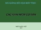 Bài giảng đồ họa máy tính - Ngô Quốc Việt