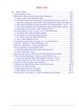 Giáo trình Tin học Microsoft Word 2000 - Menu Table (Nguyễn Quốc Trung)