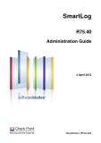 SmartLog R75.40 Administration Guide