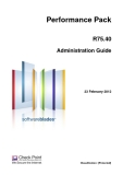 Performance Pack R75.40 Administration Guide