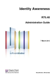 Identity Awareness R75.40 Administration Guide