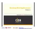 Module 13 - Hacking Web Applications