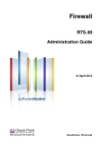 Firewall R75.40 Administration Guide