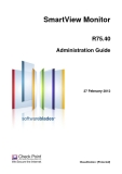 SmartView Monitor R75.40 Administration Guide
