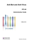 Anti-Bot and Anti-Virus R75.40 Administration Guide