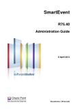 SmartEvent R75.40 Administration Guide