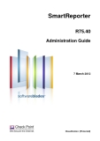 SmartReporter R75.40 Administration Guide