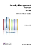 Security Management Server R75.40 Administration Guide