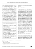 Cơ chế hiện tại về quản lý rủi ro và bảo trợ xã hội ở Việt Nam