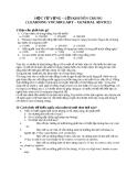 HỌC TỪ VỰNG – LỜI KHUYÊN CHUNG ( LEARNING VOCABULARY – GENERAL ADVICE)