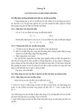 Chương 10: Vật dẫn năng lượng điện trường