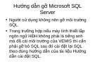 Hướng dẫn gỡ Microsoft SQL Server