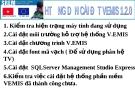 Hướng dẫn cài đặt  VEMIS1.2.0