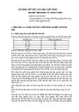 SỬ DỤNG ĐẤT DỐC CHO SẢN XUẤT NÔNG NGHIỆP TIỀM NĂNG VÀ THÁCH THỨC PGS.TS Đào Châu Thu