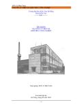 Bài giảng: Nguyên lý thiết kế kiến trúc công nghiệp - KTS Lê Hữu Trình