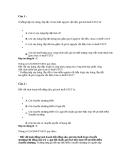 Bài tập trắc nghiệm môn thuế