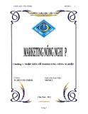Chương 1 NHẬP MÔN VỀ MARKETING NÔNG NGHIỆP