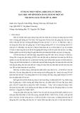 BÁO CÁO KHOA HỌC:SỬ DỤNG PHẦN MỀM CABRI II PLUS TRONG DẠY HỌC MÔ HÌNH HÓA BẰNG HÀM SỐ MỘT SỐ NỘI DUNG GIẢI TÍCH LỚP 12,