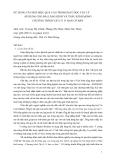 BÁO CÁO KHOA HỌC:SỬ DỤNG CÂU HỎI HIỆU QUẢ CAO TRONG DẠY HỌC VẬT LÝ ÁP DỤNG CHO BÀI LĂNG KÍNH VÀ THẤU KÍNH MỎNG CHƯƠNG TRÌNH VẬT LÝ 11 BAN CƠ BẢN