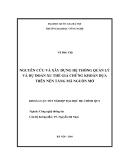 LUẬN VĂN: NGUYÊN CỨU VÀ XÂY DỰNG HỆ THỐNG QUẢN LÝ VÀ DỰ ĐOÁN XU THẾ GIÁ CHỨNG KHOÁN DỰA TRÊN NỀN TẢNG MÃ NGUỒN MỞ