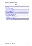 Báo cáo môn học quản trị hệ thống thông tin