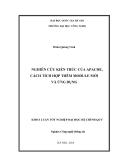 ĐẠI HỌC QUỐC GIA HÀ NỘI TRƯỜNG ĐẠI HỌC CÔNG NGHỆ  Đoàn Quang Vinh  NGHIÊN