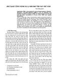 Báo cáo : Ứng dụng công nghệ xử lý nền mới TBM vào Việt Nam