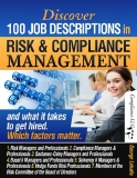 job descriptions in risk and compliance management