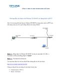 Hướng dẫn cấu hình trên Modem TD-8840T sử dụng dịch vụ IPTV