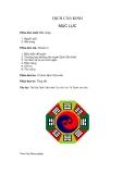 Bài tập võ thuật - DỊCH CÂN KINH