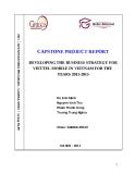 """Trương Trung Nghĩa - Báo cáo """"Xây dựng chiến lược kinh doanh viễn thông di dộng trong nước của Tập đoàn Viễn thông Quân đội Viettel giai đoạn 2011-2015"""""""