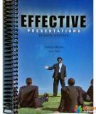 Effective Presentations- Dilek Tokay, SU 2004
