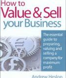 How to Value & Sell your Business