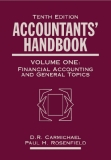 ACCOUNTANTS' HANDBOOK VOLUME ONE: Financial Accounting and General Topics