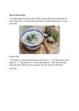 Súp gà nấm hương Với những nguyên liệu đơn giản