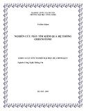 LUẬN VĂN:NGHIÊN CỨU MÁY TÌM KIẾM QUA HỆ THỐNG GREENSTONE