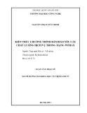LUẬN VĂN:KIẾN TRÚC CHƯƠNG TRÌNH ĐẢM BẢO YÊU CẦU CHẤT LƢỢNG DỊCH VỤ TRONG MẠNG WIMAX
