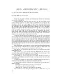 Chương 8: Chất lượng nước và hơi của lò