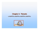 Operating System Concepts - Chapter 4: Threads