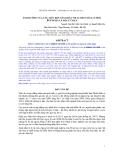 Báo cáo khoa học : ẢNH HƯỞNG CỦA CÁC MỨC BỘT SẮN KHÁC NHAU ĐẾN CHẤT LƯỢNG BÚP NGỌN LÁ MÍA Ủ CHUA