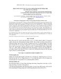 Báo cáo khoa học : KHẢ NĂNG SẢN XUẤT CỦA NGAN PHÁP ÔNG BÀ R71 NHẬP NỘI VÀ CON LAI CỦA CHÚNG