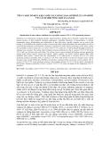 BÁO CÁO KHOA HỌC : TỐI ƯU MỘT SỐ ĐIỀU KIỆN NUÔI CẤY CHỦNG NẤM ASPERGILLUS AWAMORI VTCC-F312 SINH TỔNG HỢP XYLANASE