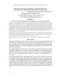 Báo cáo khoa học : NÂNG CAO NĂNG SUẤT SINH SẢN CỦA LỢN NÁI MÓNG CÁI TẠI TỈNH QUẢNG TRỊ BẰNG PHƯƠNG PHÁP LÀM TƯƠI MÁU