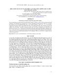 Báo cáo khoa học : KHẢ NĂNG SẢN XUẤT CỦA ĐÀ ĐIỂU LAI 3 MÁU GIỮA TRỐNG ZIM VÀ MÁI LAI F1 (BLACK x AUST)