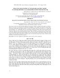 Báo cáo khoa học : KHẢ NĂNG SINH TRƯỞNG TỪ SƠ SINH ĐẾN TRƯỞNG THÀNH CỦA BÒ ĐỊA PHƯƠNG VÀ LAI SIND HIỆN NUÔI Ở TỈNH QUẢNG TRỊ