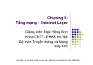 Chương 3: Tầng mạng và Internet Layer