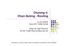 Chương 4: Chọn đường - Routing