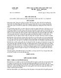 Văn bản về luật hình sự