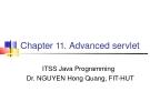 Java C11. Advanced Servlet